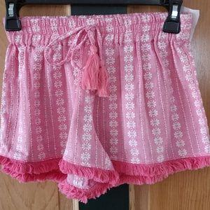 New girls shorts